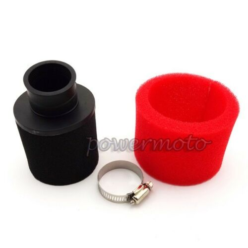 35mm Foam Air Filter Angled Bent Neck For 50cc 110cc Motorcycle ATV
