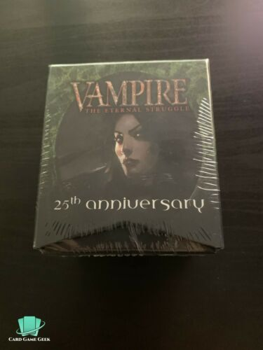 25th Anniversary Box VTES Vampire the Eternal Struggle BCP Sealed Deck