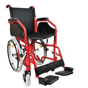 Sedia a Rotelle pieghevole a autospinta carrozzina per disabili PASSAGGI STRETTI