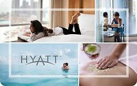 $50 Hyatt Gift Card For Only $47.50! - FREE Mail Delivery