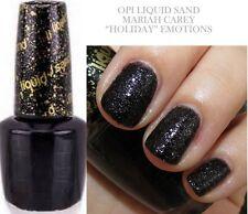 OPI Liquid Sand E21 Emotions Polish Mariah Carey Holiday Black Nail HOT NEW