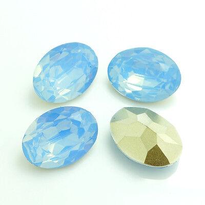 Wholesale 10PCS oval Resin Rhinestone beads 18X25mm diy