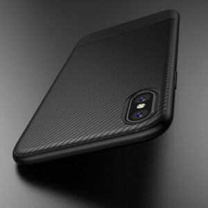 official photos bbdf6 bac08 Details about For iPhone X Shockproof Hybrid Nylon Carbon Fiber Case Cover  UK EP hi