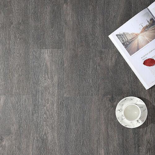 Dark Grey Wood Effect Porcelain Wall /& Floor Tiles SAMPLE