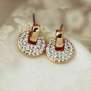 1-Paar-Mode-Damen-Lady-Elegant-Kristall-Rhinestone-Ohrringe-mode-Stud-Ear-E4A9