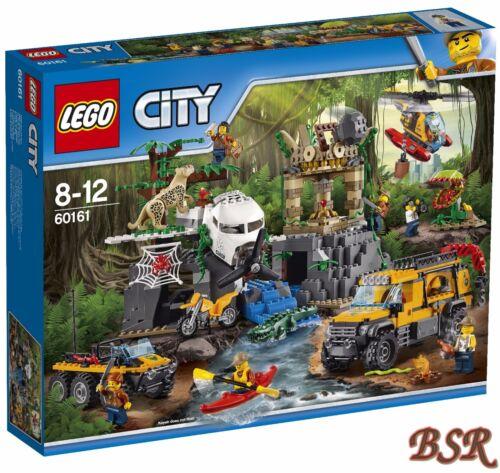 LEGO® City Dschungel 60161 Forschungsstation /& 0.-€ Versand /& NEU /& OVP !