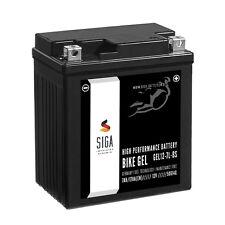 SIGA 7Ah GEL Motorrad Batterie YTX7L-BS 12V 170A Motorradbatterie GEL 12-7L-BS