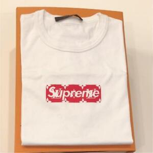 Used Louis Vuitton Supreme Monogram T Shirt Size XS Limited Very
