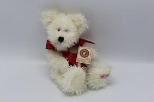 Boyds-Bears-White-Heart-XOXO-Teddy-Bear-Jointed-12-034-Plush-O-HOWIE-LUVSYA-82005