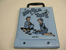 "*NEW* Rhythm Tote ""Date Line"" 50's Rockabilly Record Holder Vintage Teen Time"