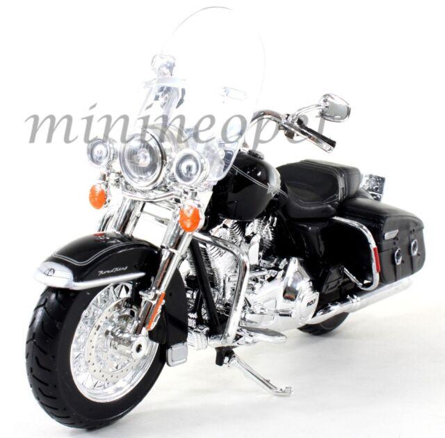 MAISTO 32322 HARLEY DAVIDSON 2013 FLHRC ROAD KING CLASSIC MOTORCYCLE 1/12 BLACK