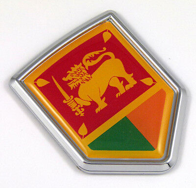 3/'/' Sri Lanka Coat Of Arms Car Bumper Sticker Decal 5/'/' or 6/'/'