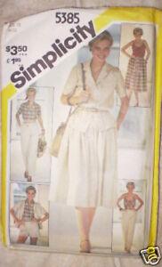 Vintage-Simplicity-Muster-Hosen-Shorts-Rock-Hemd-12