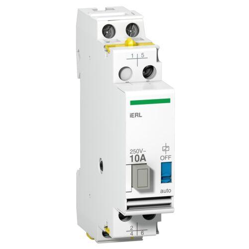 Extension pour relais inverseur iRLI 230-240VCA 10A 1F 1O//F A9E15539 SCHNEIDER