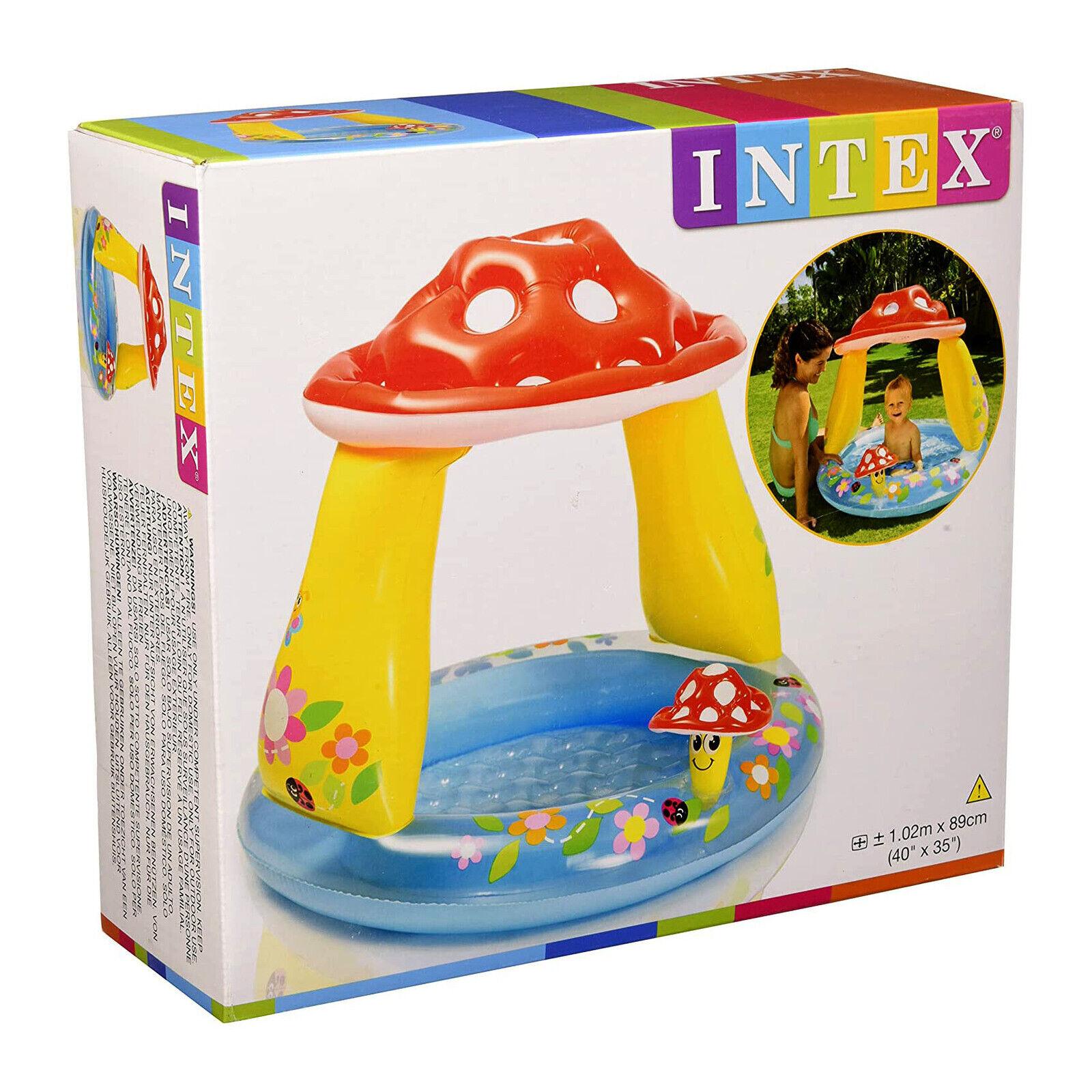Intex Mushroom Baby Inflatable Pool