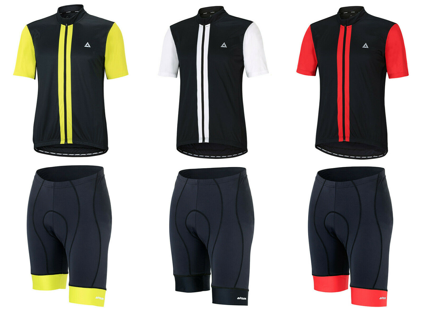 Airtracks Bicycle Set  Cycling short Comfort Line + Jersey Sleeve pro II