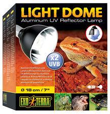 Exo Terra Light Dome UV-Reflektorlampe aus Aluminium