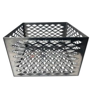 Charcoal-basket-fire-box-Oklahoma-Joe-longhorn-highland-BBQ-Smoker-STAINLESS