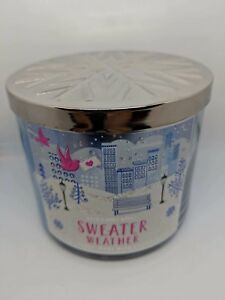1 Jar Of Bath Body Works Sweater Weather Scented Candle 145oz Ebay