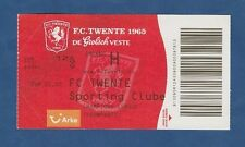 Orig.Ticket  Champions League   2009/10  TWENTE ENSCHEDE - SPORTING LISSABON  !!