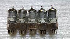 5 EICO GE 6AU6A Vacuum Tubes  ( 62-52, 188-5 ) : Strong!!!