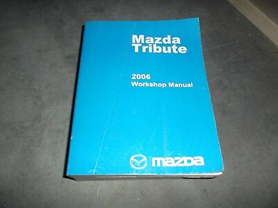 2006    Mazda       Tribute    SUV Workshop Shop Service Repair Manual i s    4WD    23L 30L V6   eBay