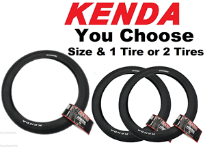 "1 or 2 Pack Kenda K1132 Admiral 20/"" x 2.10 or 2.35/"" BMX Bike Tire Urban Street"
