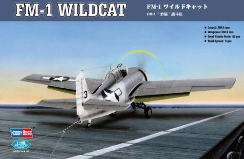 Neu Hobbyboss 80329-1:48 FM-1 Wildcat