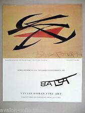Giacomo Balla Art Gallery Exhibit PRINT AD - 1989 ~~ Boccioni's Fist