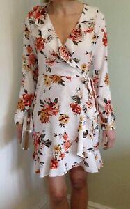 John-Zack-Wrap-Mini-Dress-floral-print