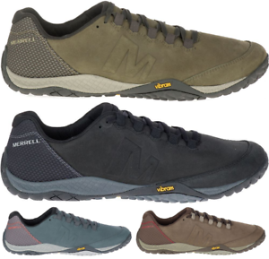 MERRELL-Parkway-Emboss-Lace-Barefoot-Sneakers-Trainers-Athletic-Shoes-Mens-New