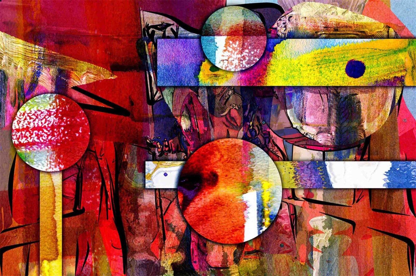 3D Farb Gekritzel Geometrie Geometrie Geometrie 789 Tapete Wandgemälde Tapeten Bild Familie DE Lemon | Wunderbar  | Große Auswahl  |  c63859