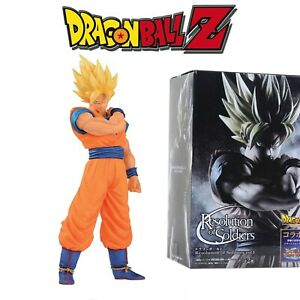 BOX FIGURE FIGURA 22 CM GOKU SUPER SAIAN DRAGON BALL Z SUPER GT SAYAN CON CAJA