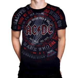 Liquid-Blue-AC-DC-SONGS-Mens-T-Shirt-Heavy-Rock-Biker-Rocker-ACDC