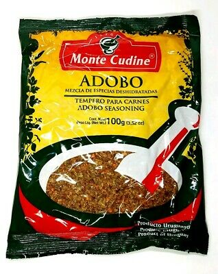 Case Of Monte Cudine Adobo Lot Of 15 Pcs Per Case 100g Ea Packet Uruguay Import Ebay