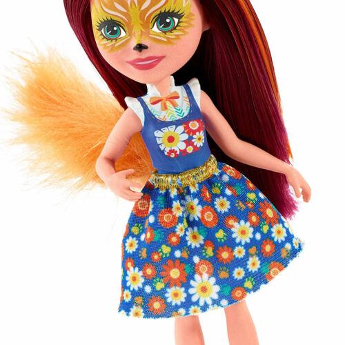 Enchantimals Felicity Fox Bambola /& Animale AMICO Flick FXM71 da MATTEL
