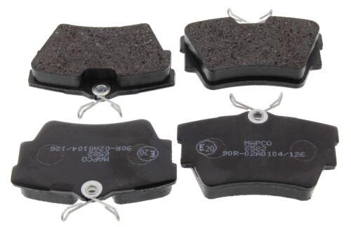 For Vauxhall Vivaro Renault Trafic Rear Brake Disc Pad Set Lucas System