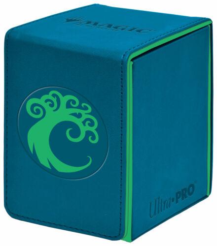 Pro Deck Box Ravnica THRONE Ultra Pro MAGIC Alcove Flip MTG SIMIC Guilds 100