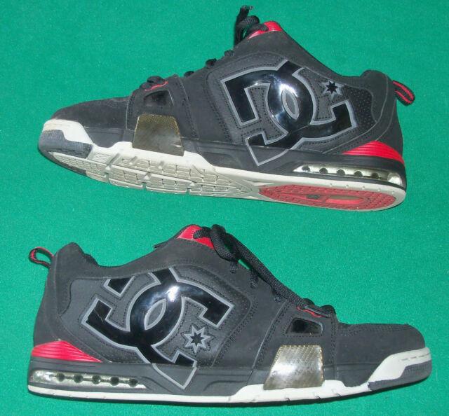DC Frenzy Black Battleship Men Shoes