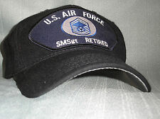VETERAN BALL CAP-U.S. AIR FORCE - SENIOR MASTER SERGEANT (SMSGT) RETIRED