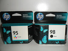 HP 98 C9364WN Black & 95 C8766WN  Tri-Color Ink  SEALED RETAIL BOX