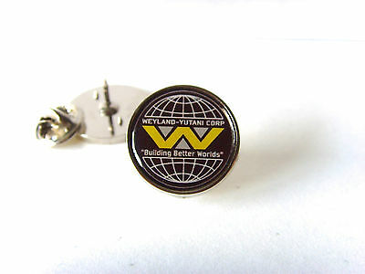"ALIENS BUG STOMPER /""WE ENDANGER SPECIES/"" LAPEL PIN BADGE TIE PIN GIFT"