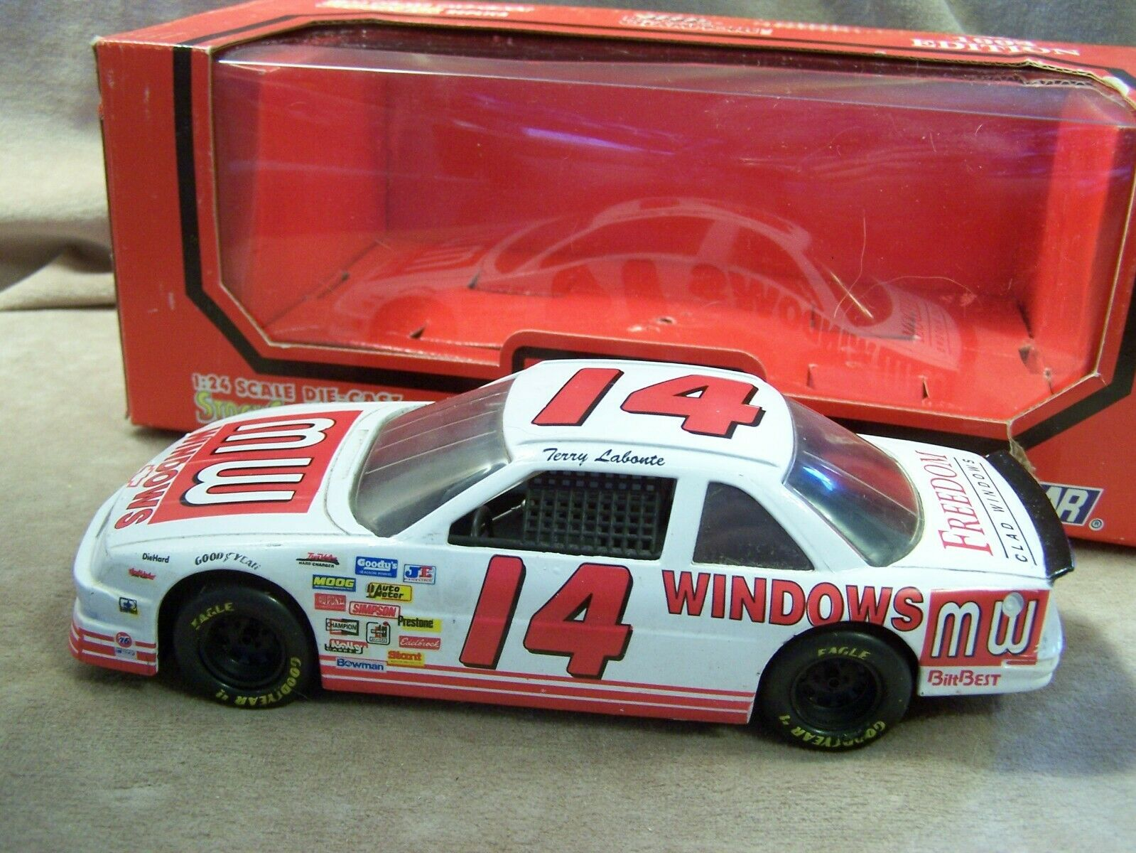 Terry Labonte MW Windows Monte Carlo 1 24 Die Cast Car from Racing Champions