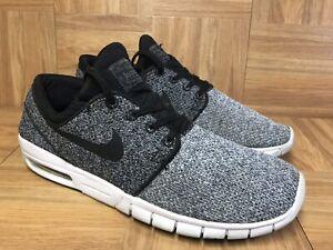 RARE-Nike-SB-Stefan-Janoski-Air-Max-Black-Grey-Sz-10-631303-102-Men-039-s-Shoes