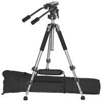 Ravelli Avt Professional 67-inch Video Camera Tripod With Fluid Drag Head,