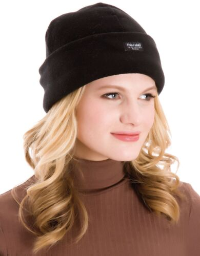 LADIES Thinsulate FLEECE HAT Thermal Fleece Mens Womens Winter Ski Insulated UK