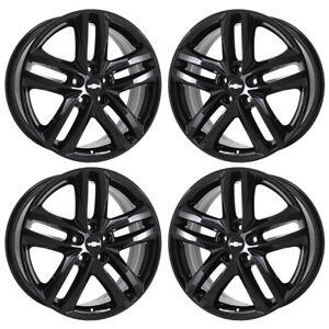 Details About 19 Chevrolet Equinox Black Wheels Rims Factory Oem 2018 2019 Set 5832