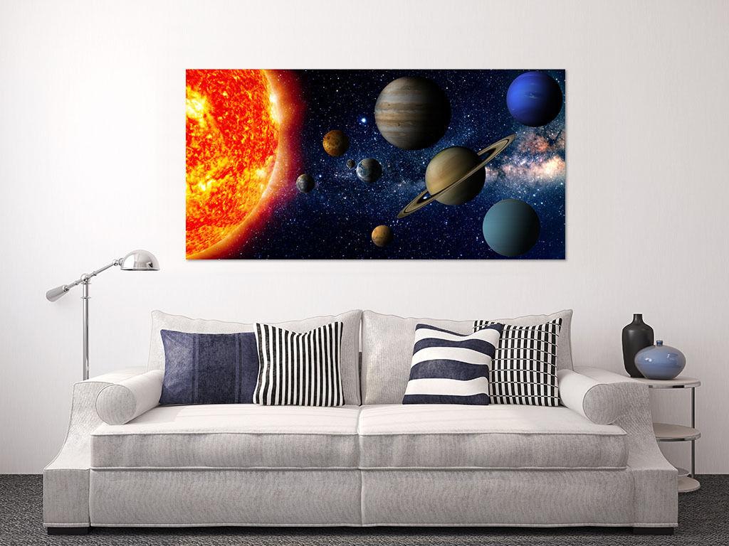 3D Rote Mars Jupiter Saturn 967 Fototapeten Wandbild BildTapete AJSTORE DE Lemon | Deutschland Shops  | Verschiedene Stile und Stile  | Luxus
