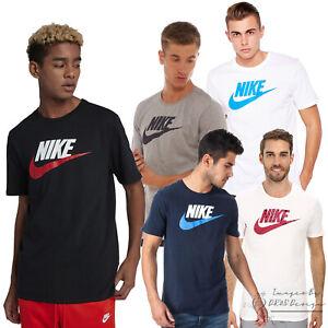 Nike-Icono-Para-hombres-Deporte-Gimnasio-T-shirts-solo-amp-2-paquetes-Envio-Gratis-Reino-Unido