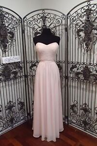91c1f4d1748 Q16 2706 BILL LEVKOFF 1142 SZ 10 PETAL PINK SEQUIN LACE FORMAL DRESS ...